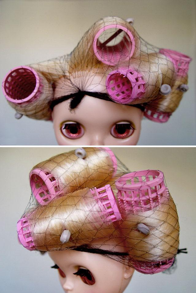Kenner 1972 blythe doll hair defrizz restoration yatafix prototype aiai chan blythe vintage doll japan yatabazah