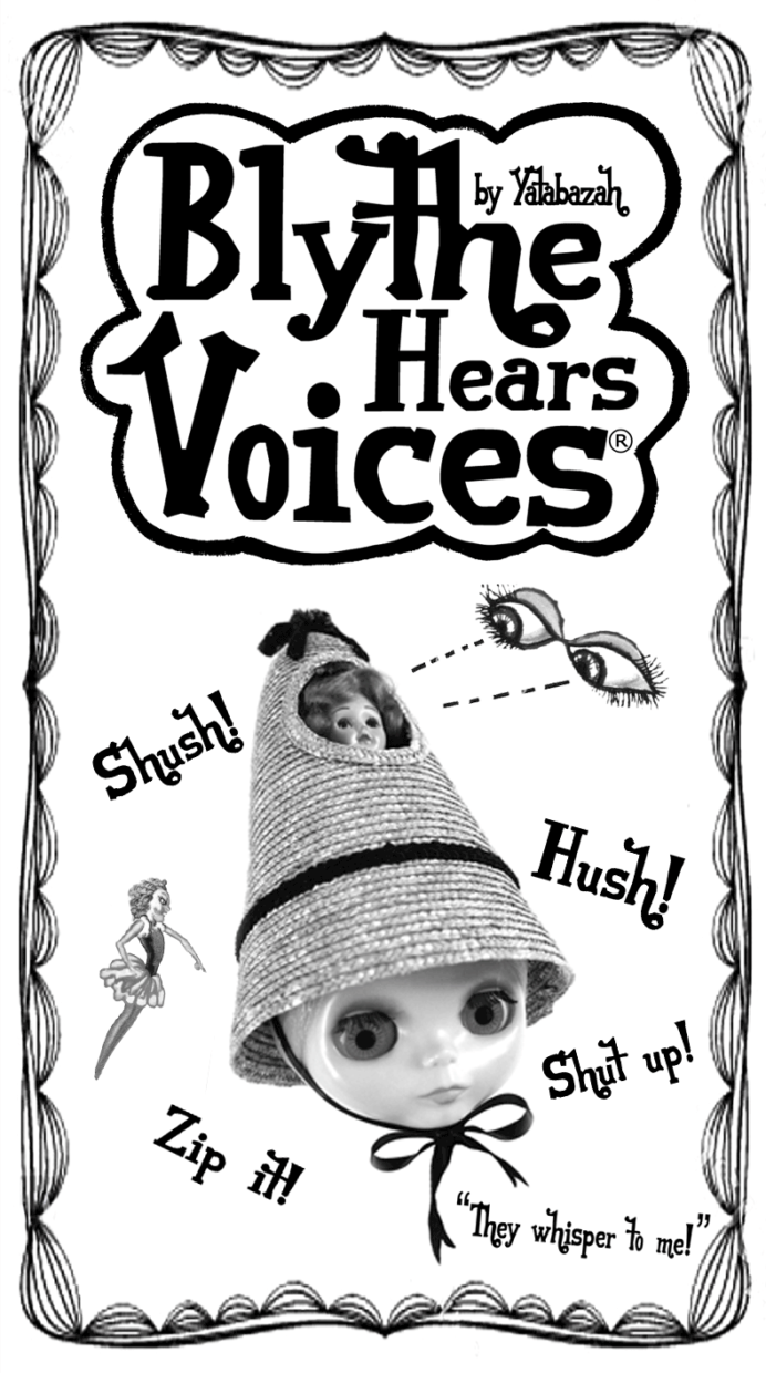 casque cocteau be my baby cherry blythe hears voices prototype aiai chan blythe kenner vintage doll japan yatabazah