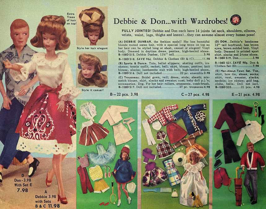 debbie drake valentine vintage barbie clone polly pose don Dunbar Miss Fashion doll Marx Marlene yatabazah