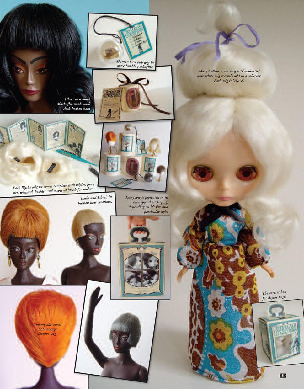 mdvanii wig popovy pasha bjd barbie integrity fashion royalty hair alpaca vintage human hair doll japan yatabazah