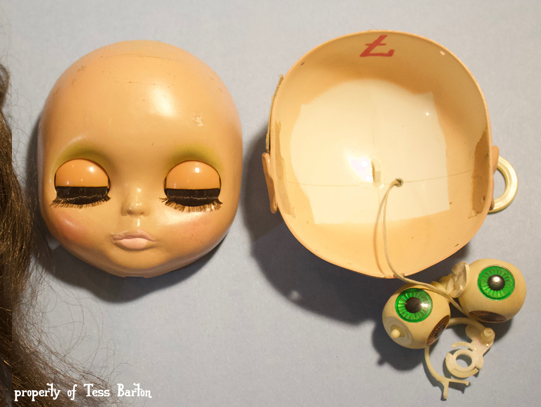 prototype aiai chan blythe kenner vintage doll japan patent