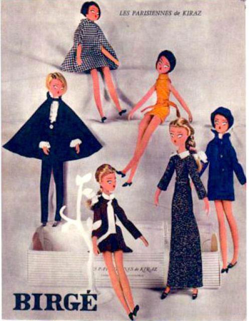 kiraz mamzelle de paris french fashion doll sylvie vartan Les Parisiennes de Kiraz