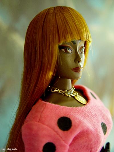 mdvanii wig barbie integrity fashion royalty hair alpaca vintage human hair doll japan yatabazah