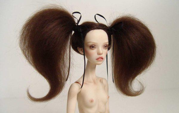 popovy bjd wig doll pasha marmite sue enchanted doll wig