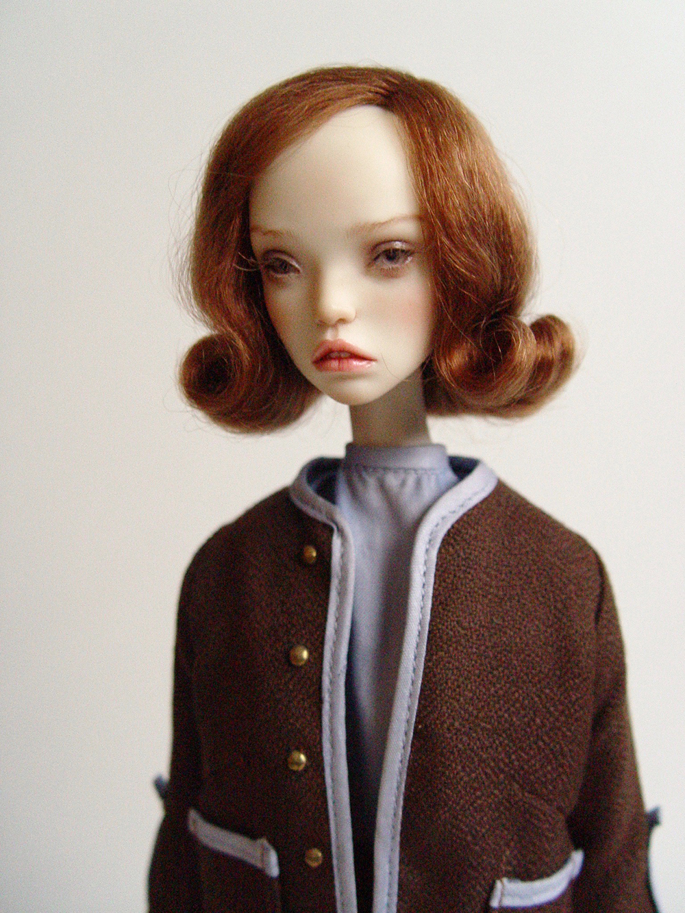 popovy queen's gambit anya taylor joy netflix beth harmon pasha bjd wig alpaca mohair marmite sue enchanted doll tender creation yatabazah