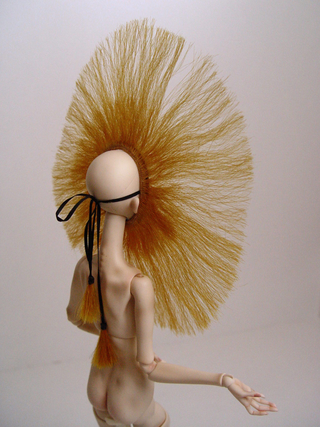 wig popovy pasha bjd ball jointed doll wig marmite sue enchanted Mdvanii Barbie doll wig yatabazah luxury wigs doll hair artist doll vintage japan